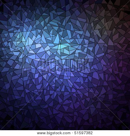Blue geometric background, vector eps8 illustration