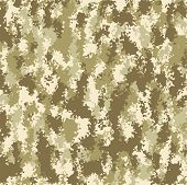 image of camoflage  - vector background with soldier summer camouflage  pattern - JPG