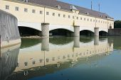 picture of hydroelectric power  - Hydroelectric Sustainable Power Generation in Munich - JPG