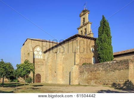 Abbey  Monastery In Canas,la Rioja