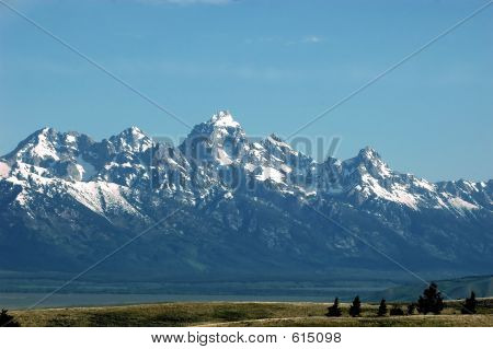 Vista do Grand Teton