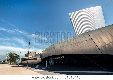 Imperial War Museum, Salford Quays, Greater Manchester, UK