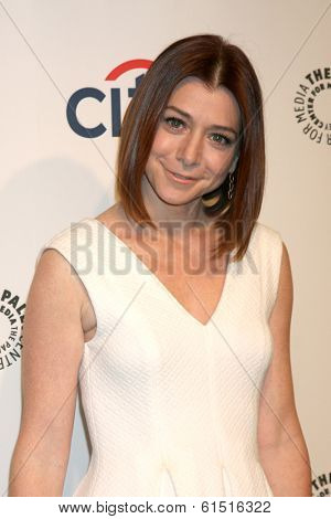 LOS ANGELES - MAR 15:  Alyson Hannigan at the PaleyFEST -
