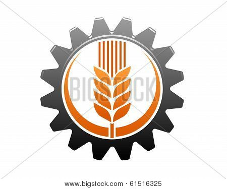 Agriculture and industry icon