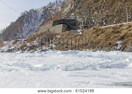 One of the stone tunnels on Circum-Baikal Railway