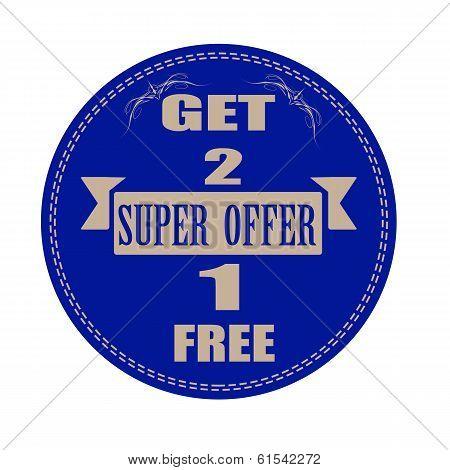 Super Offer Stamp