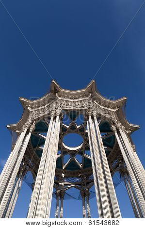 Architectural Columns Of The Socialist Era