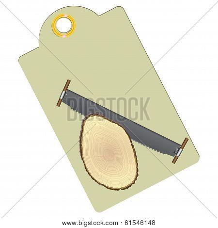 Label Sawn Timber
