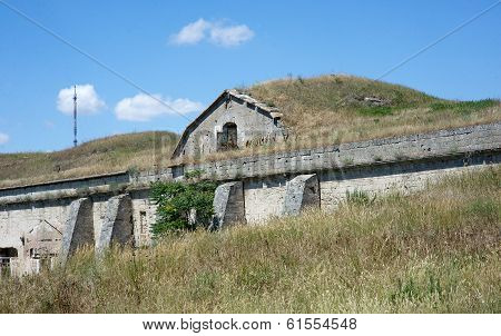 Russian military fortress.  Kerch, Crimea