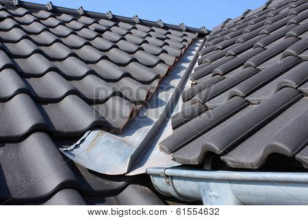 The Roof Covering With Black