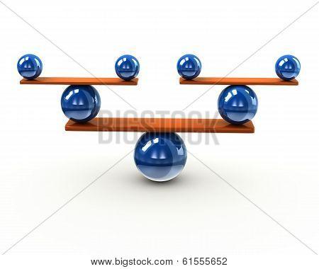 Simple balance concept