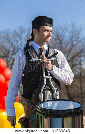 Young Irish Drummer