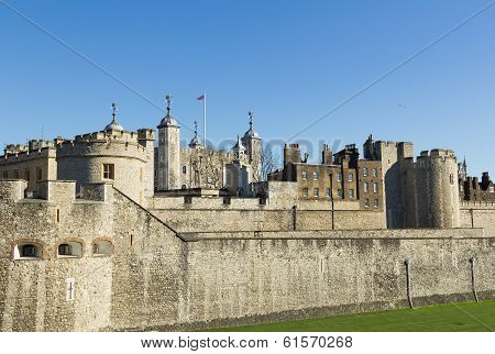 Tower Of London From The West