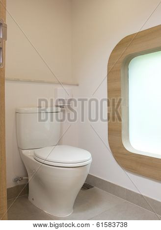 Modern style rest room