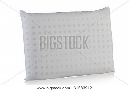 pillow filling inside with soft rubber