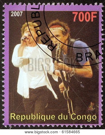 Rolling Stones Stamp
