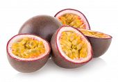 stock photo of passion fruit  - passion fruits - JPG