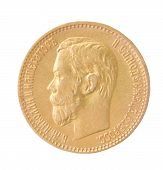 Gold Coin Of The Russian Empire
