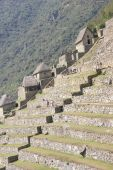 Terraced Fields And Guardian Huts