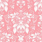 image of damask  - Vector damask seamless pattern element - JPG