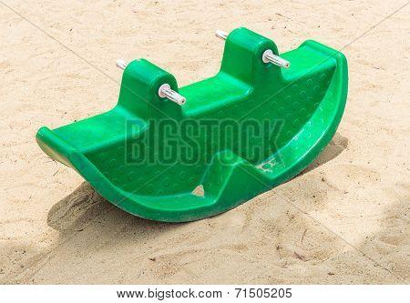 Plastic Rocking Toy