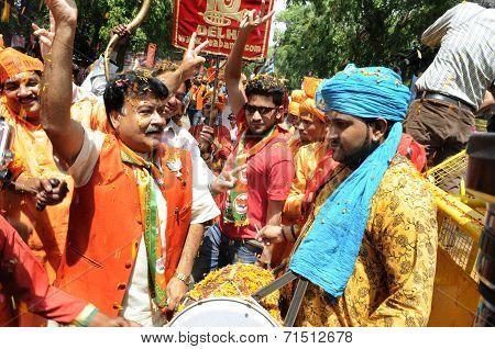 BJP wins India.