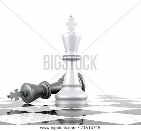 Chess: King Down