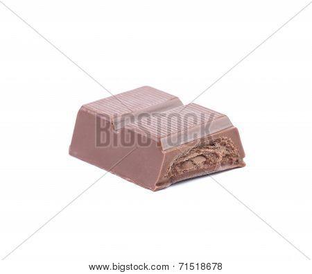 Bar of chocolate.