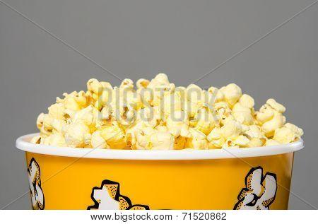Largebucket of popcorn