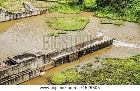 Mae Suai Hydro Power Dam In Chiang Rai, Thailand