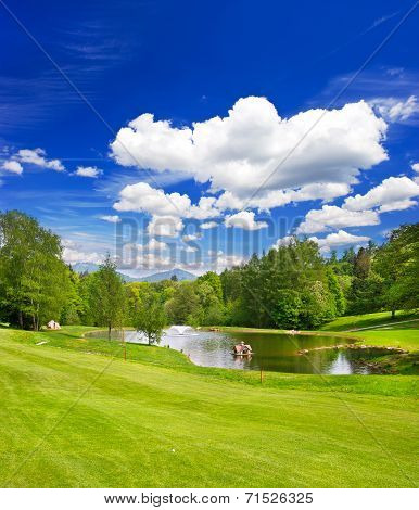 Golf Course European Landscape