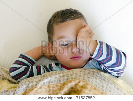 Child Waking Up