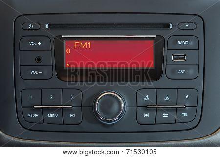 Car panel buttons