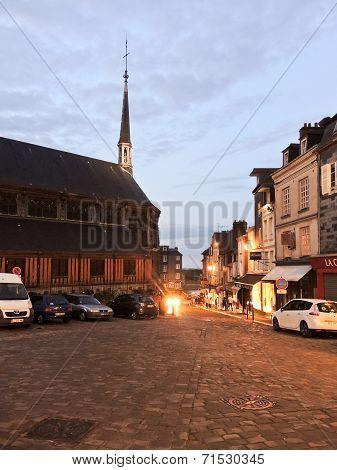 Saint Catherine Church In Honfleur, France