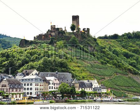 Beilstein Village And Metternich Castle, Germany