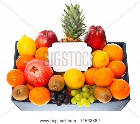 Assorted Fruits In The Box