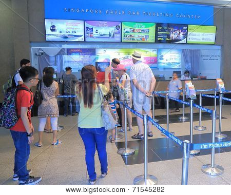Singapore cable car ticket centre