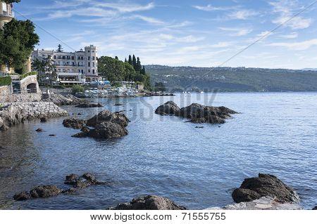 Mediterranean City Opatija Seascape