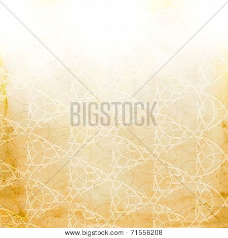 Abstract grange paper background.  blurry light effects
