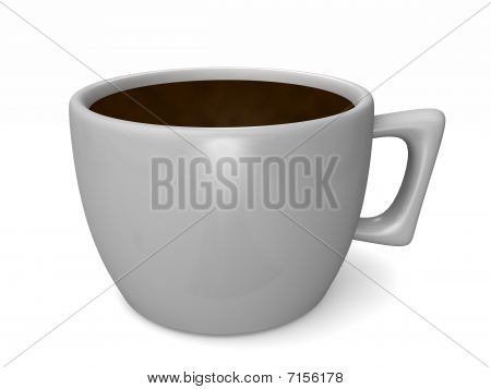 Simple Cup Of Coffee