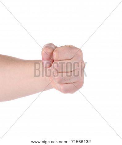 Man fist.
