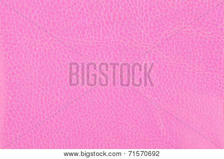 Background With Texture Of Pink Leather