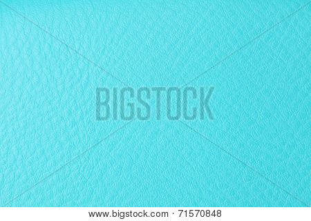 Background With Texture Of Azure Leather