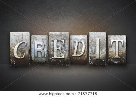 Credit Letterpress