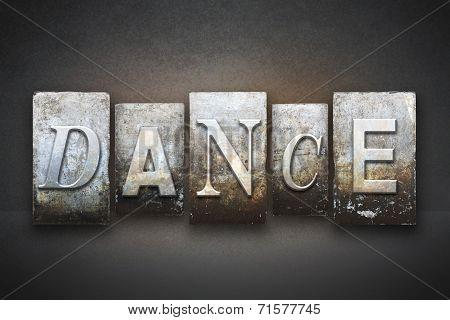 Dance Letterpress