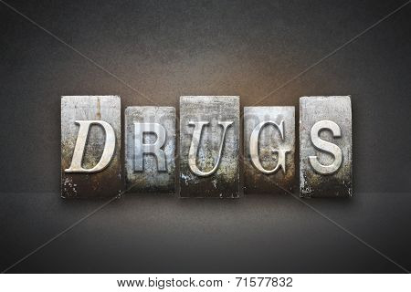 Drugs Letterpress
