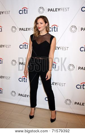 LOS ANGELES - SEP 7:  Katharine McPhee at the Paley Center For Media's PaleyFest 2014 Fall TV Previews - CBS at Paley Center For Media on September 7, 2014 in Beverly Hills, CA