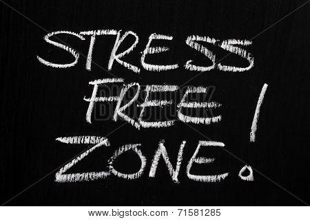 Stress Free Zone!