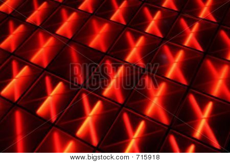 Red Dance Floor
