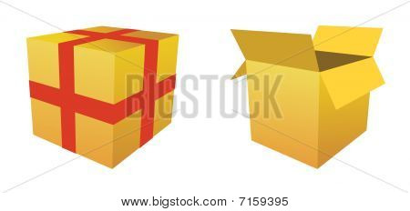 Boxes - vector image